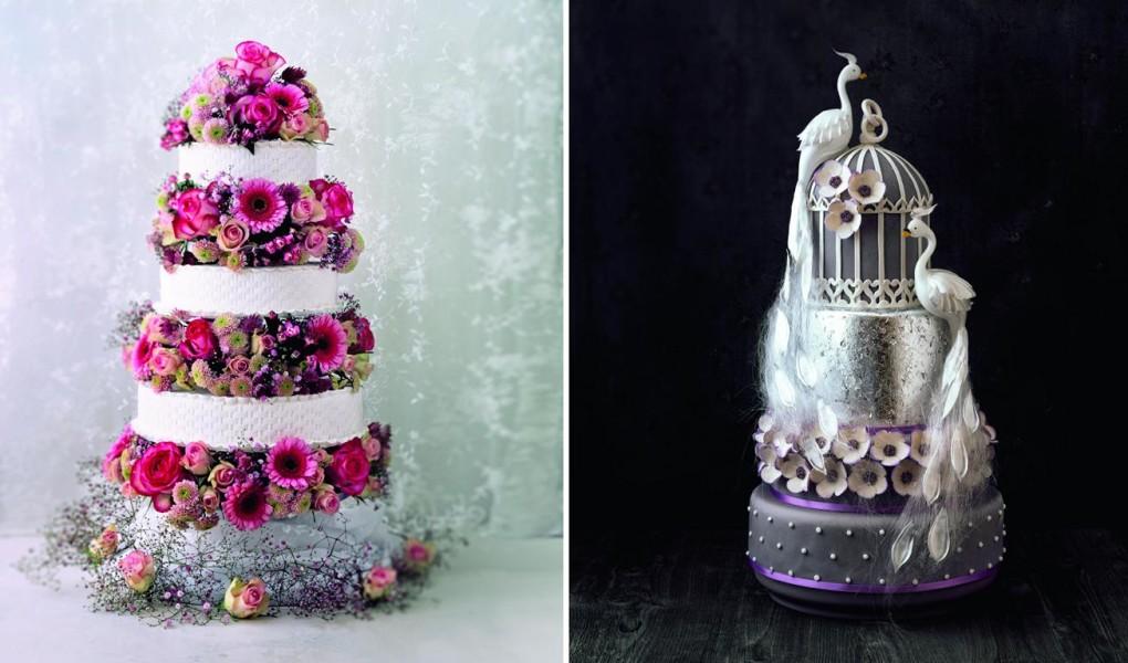 Traumhafte Hochzeitstorten von Peggy Porschen und Bernd Siefert