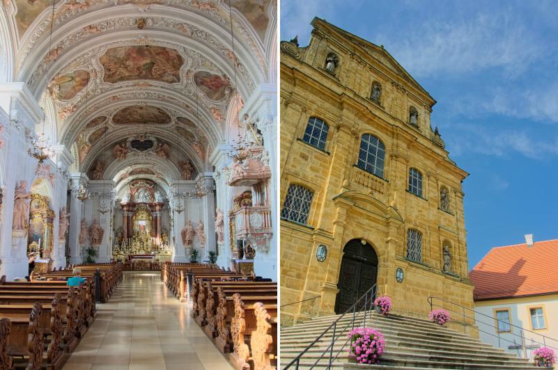 Die Kirche Maria Hilf bei Amberg in der Oberpfalz
