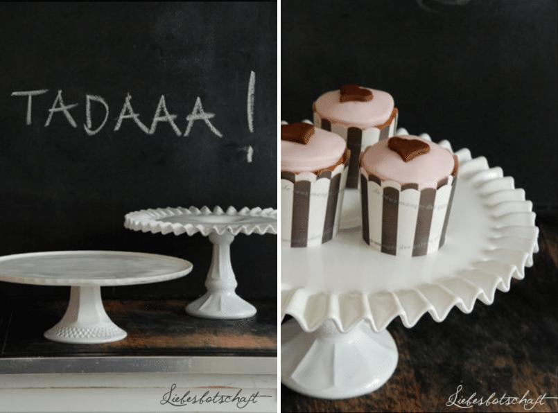 DIY – Tortenplatten und Schüsseln für die Candybar