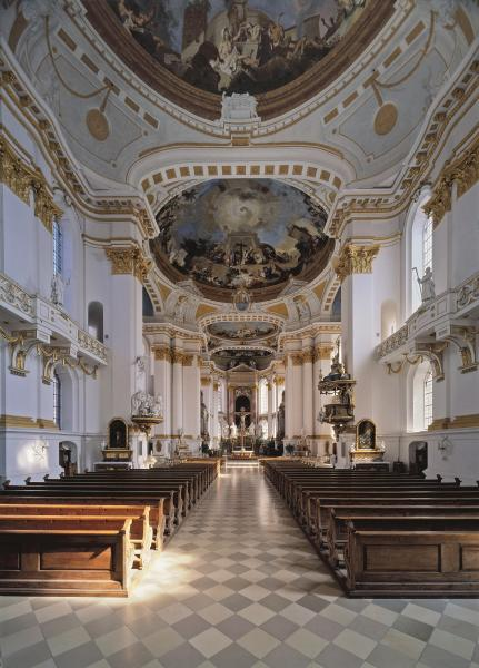 Ulm Kloster Wiblingen Kirche