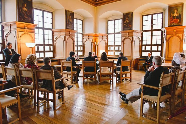 Augsburg: Das Fürstenzimmer im Rathaus
