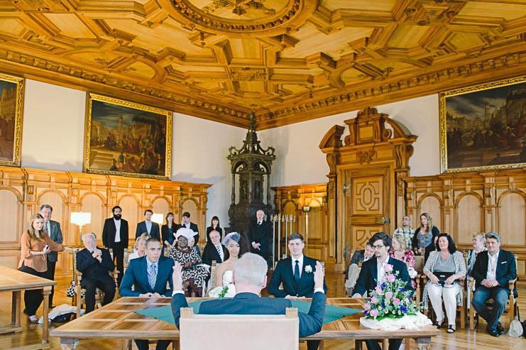 Rathaus Augsburg, Standesamt im Fürstenzimmer