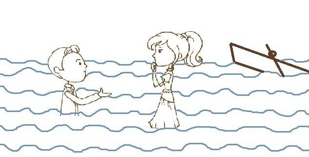 Hochzeitsgeschichten, Teil 3: Das Brautpaar im See