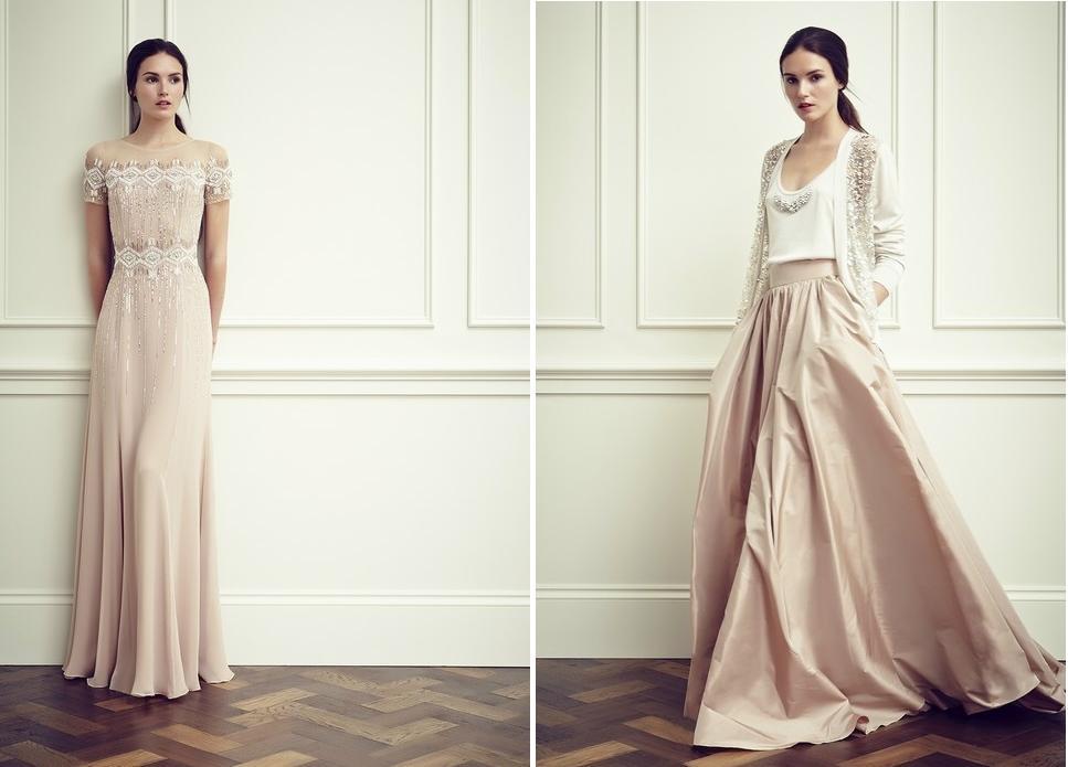 Farbige Brautkleider von Jenny Packham