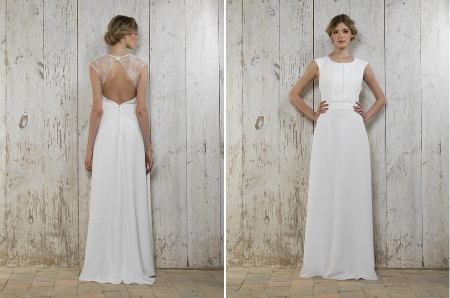 Das Brautkleid Anette von Lambert Creations passt herrlich zu Boho und Vintage Hochzeiten.