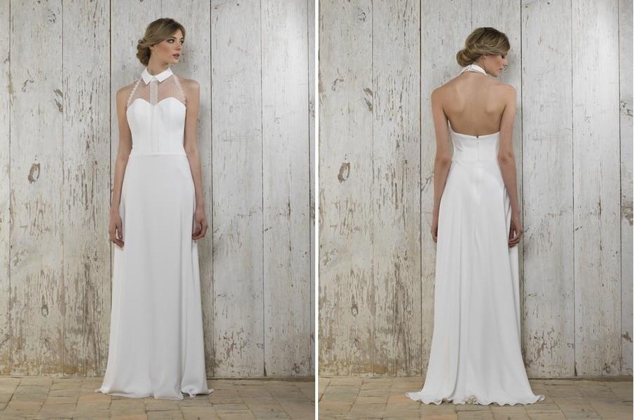 Das Brautkleid Myriam von Lambert Creations passt herrlich zu Boho und Vintage Hochzeiten.