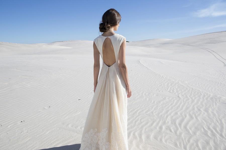 Das Brautkleid June von Rembo Styling im Vintage Stil.