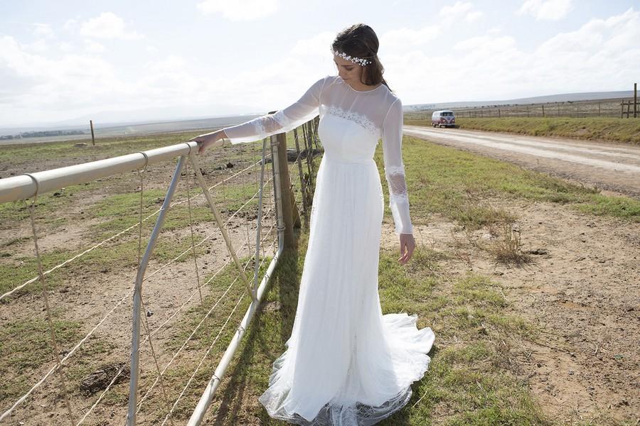Das Brautkleid Zeus von Rembo Styling im Vintage Stil.