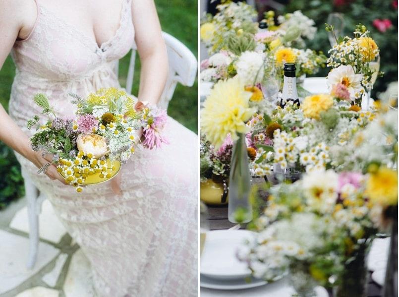 Eine Landliche Hochzeitsinspiration Im Vintage Stil