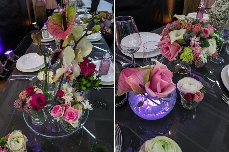 Der Messestand von Blumen Aschwin bei den Hochzeitstagen München.