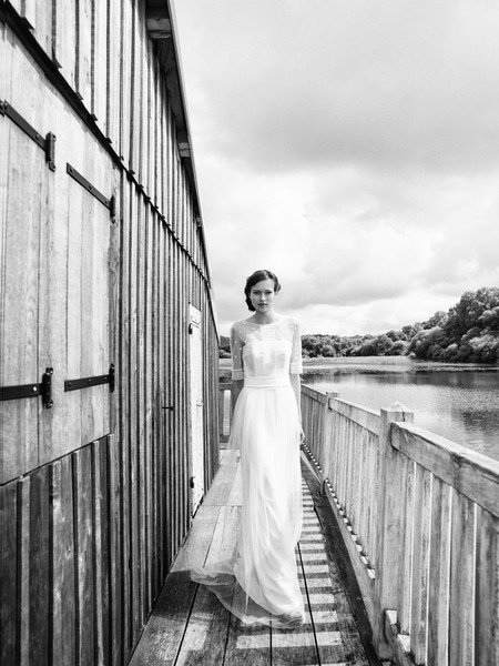 Das Brautkleid Rachel von Lambert Creations passt herrlich zu Boho und Vintage Hochzeiten.