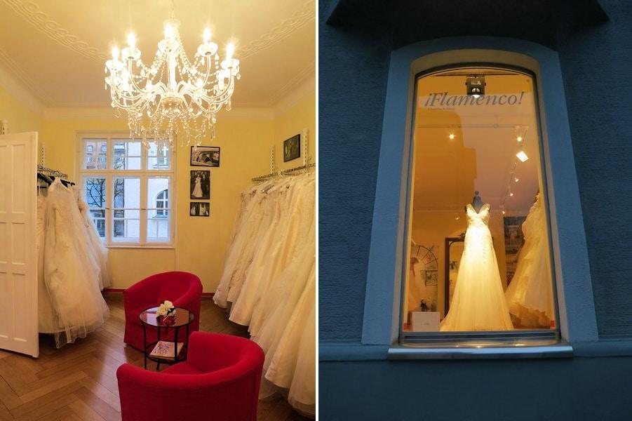 Brautläden im Test: zu Besuch bei Flamenco in München
