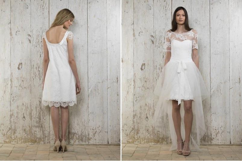 Die 29 schönsten kurzen Brautkleider 2015