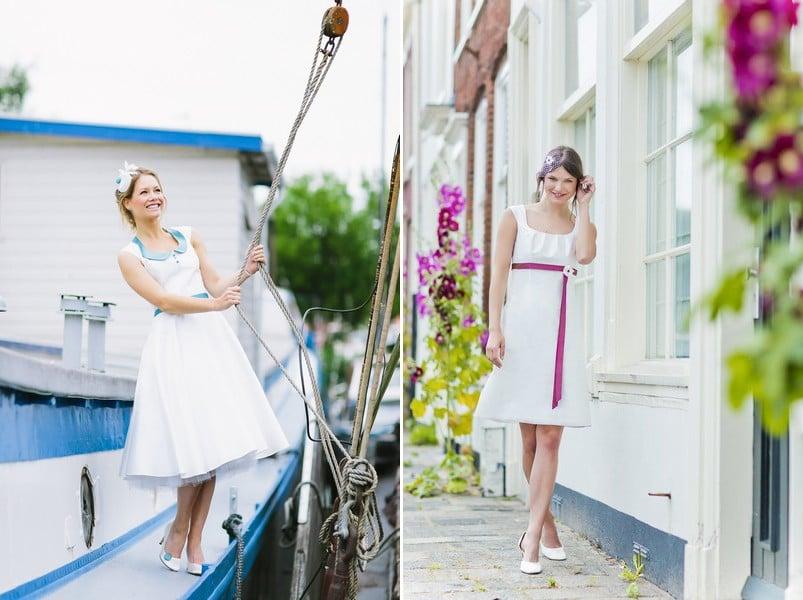 Die schönsten kurzen Brautkleider der Saison 2015 - hier: Noni.