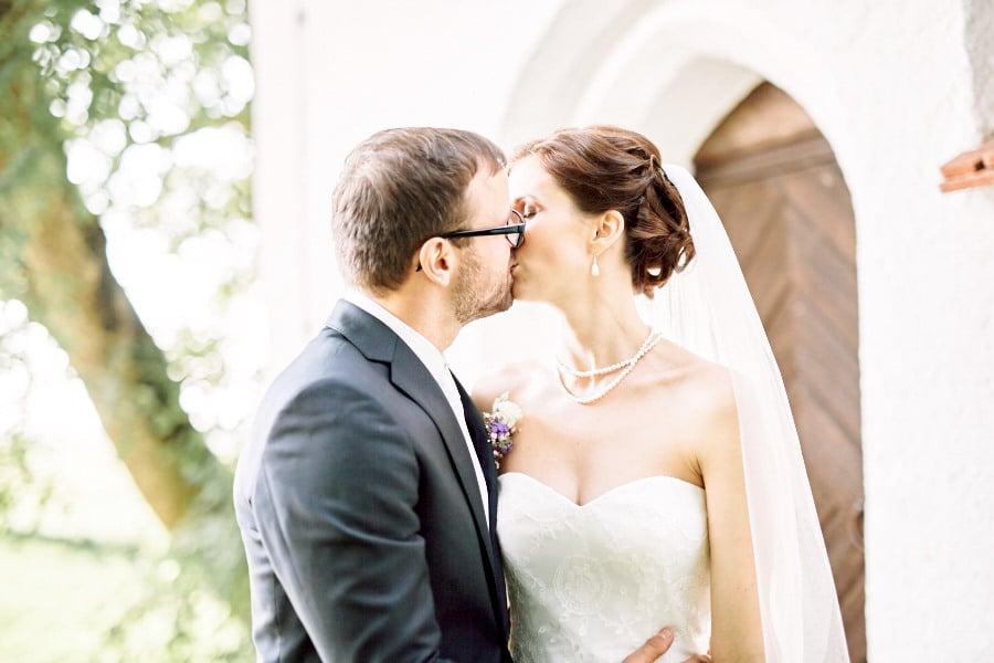 in heiraten kuss