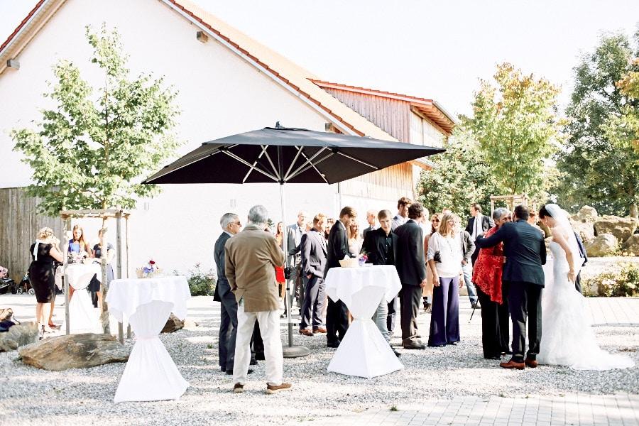 Hochzeitsfeier auf Gut Thurnsberg.