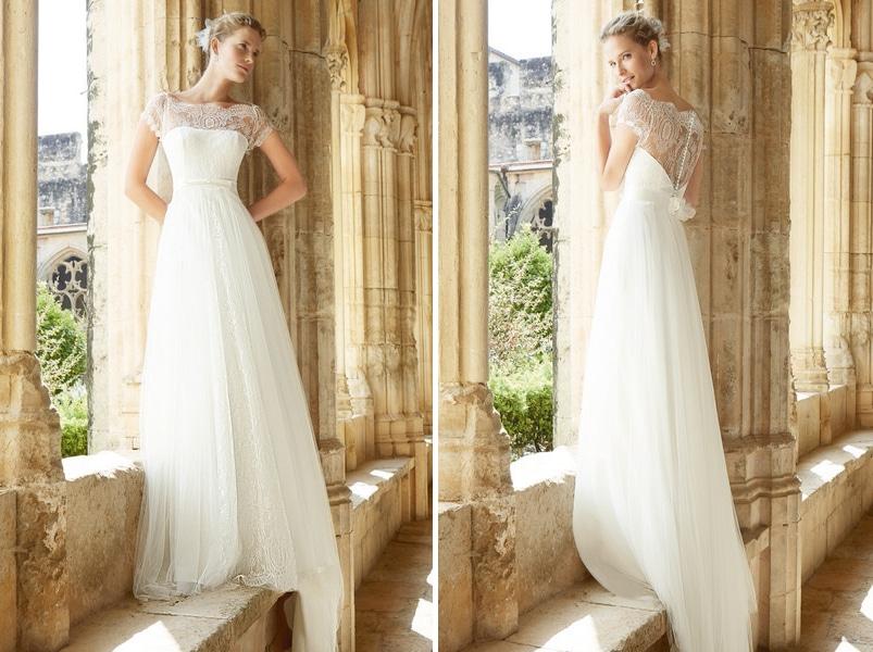 Romantische Brautkleider von Raimon Bundó