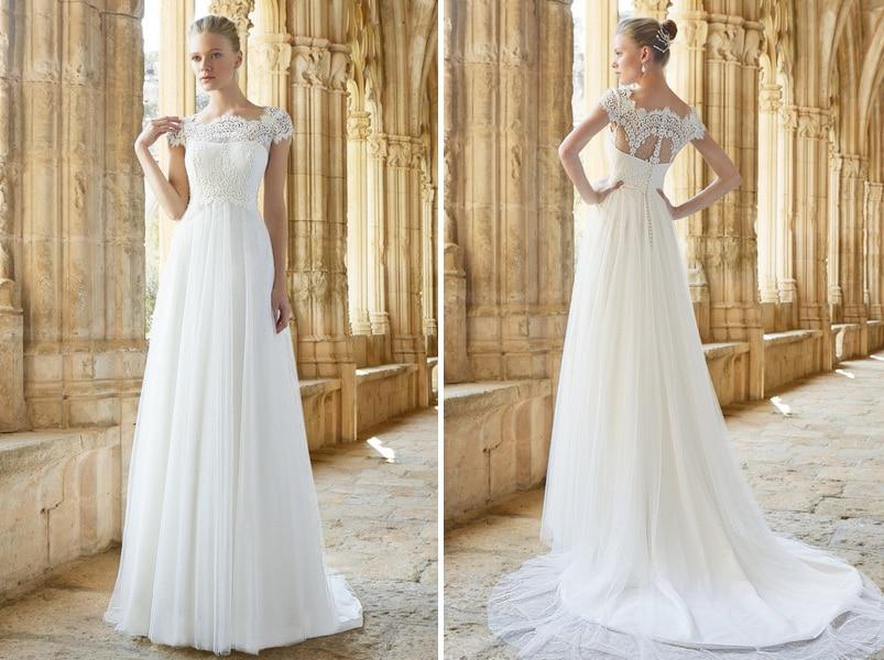 0682b53bd0d Das romantische Brautkleid Mimi von Raimon Bundo