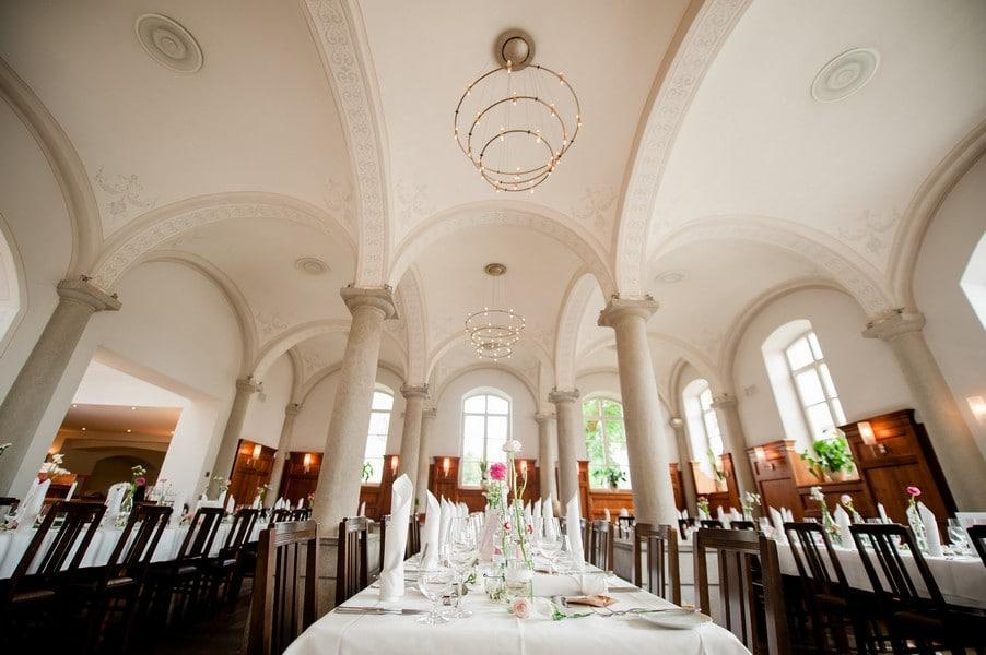 Der Festsaal in Kloster Holzen.