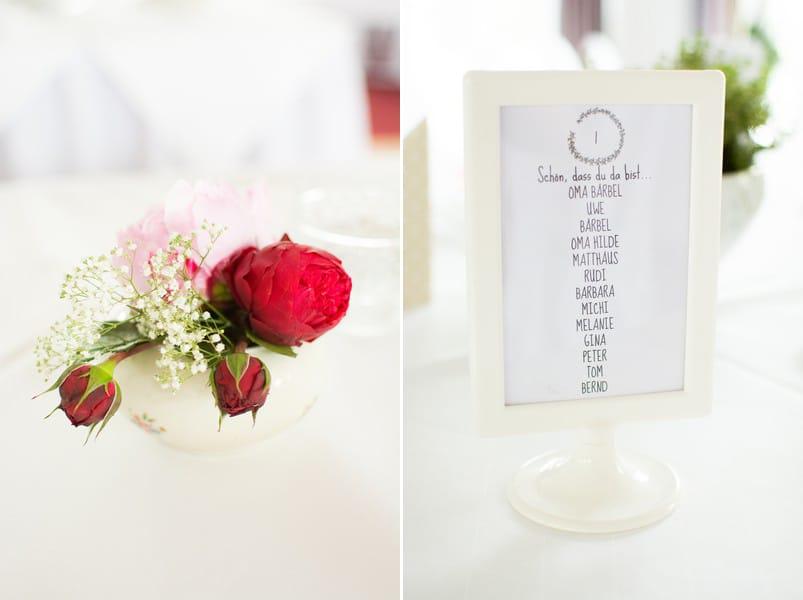 deko-hochzeit-tisch-ikea-rahmen-menu-vintage-rose-blumen