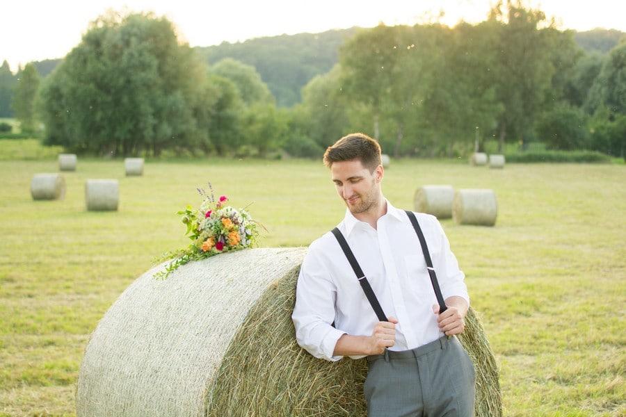Inspirationsshooting für eine Boho-Hochzeit