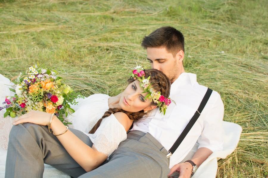 Verträumte Boho-Inspiration mit Sommerblumen von Melanie Wirth