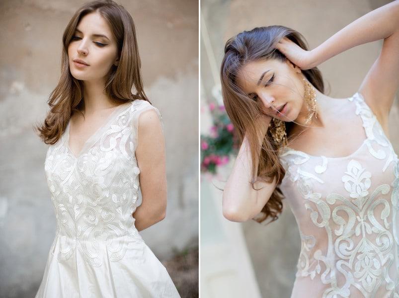 Brautkleider Akira und Atka von Felicita.