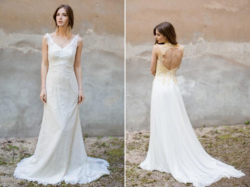 Brautkleider Chu und Anana von Felicita.