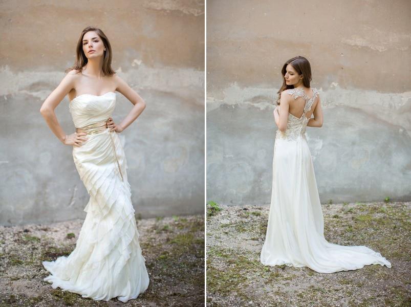 Brautkleider Nelda und Auri von Felicita.