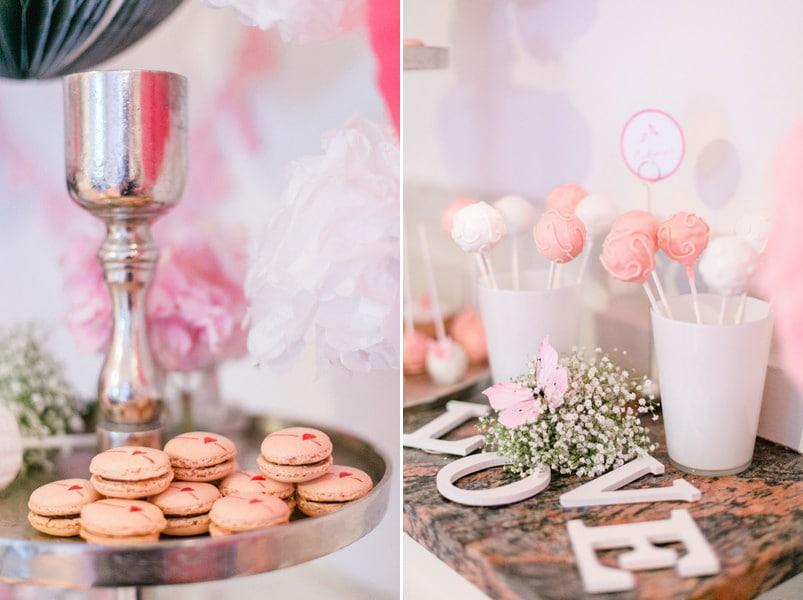 Hochzeit in Rosa und Weiß