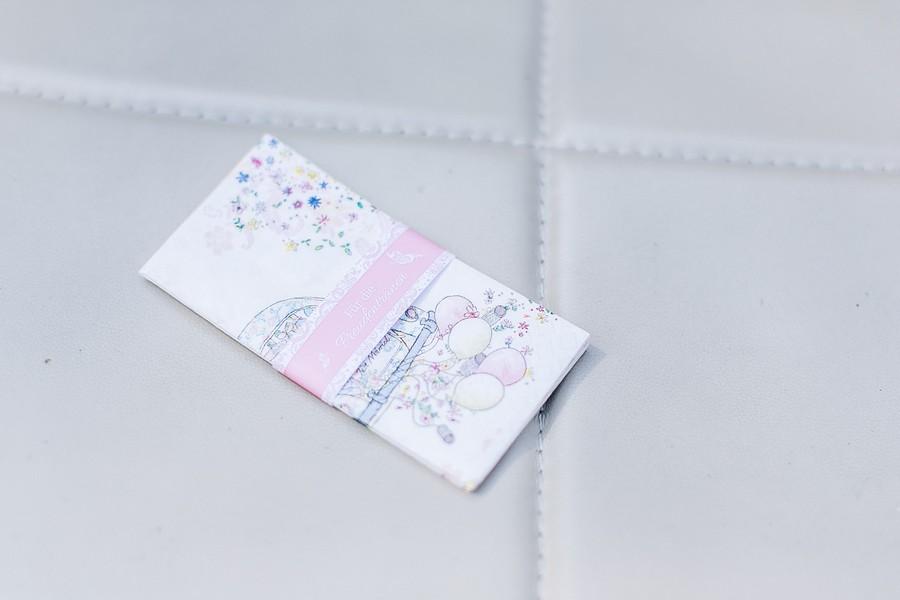 bedruckte Freudentränen Taschentücher für die Hochzeit