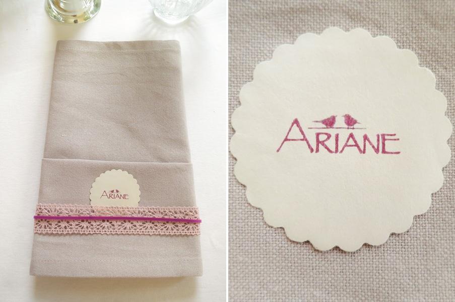 DIY Namenskärtchen für die Hochzeit mit Motivstanzer