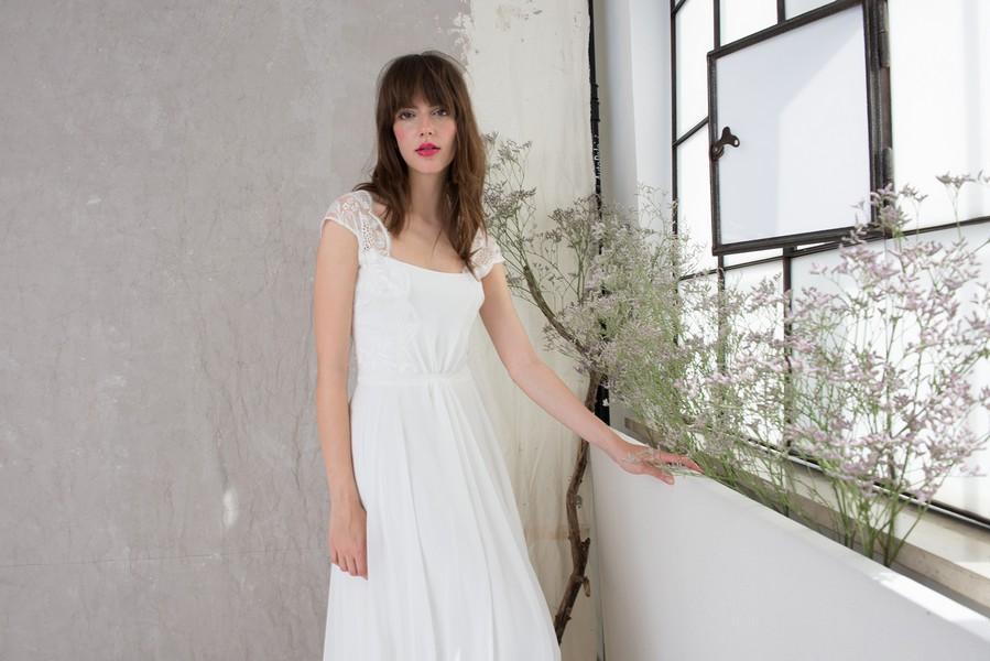 Brautkleid Henrike aus der Kollektion 2016 von Therese und Luise.