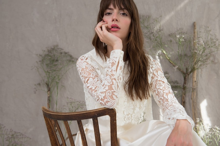 Brautkleid Holly aus der Kollektion 2016 von Therese und Luise.