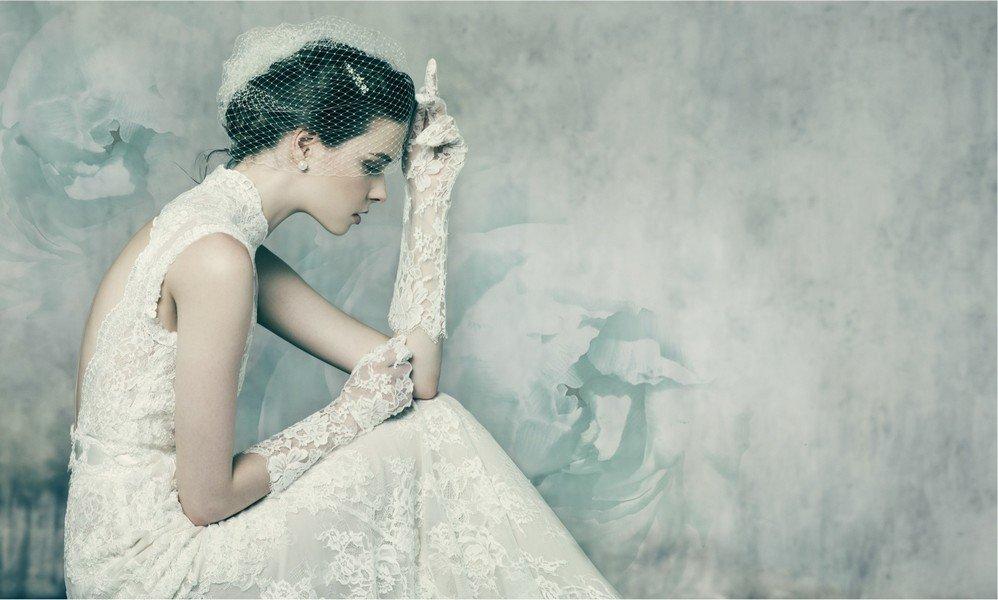 Das Brautkleid Ay von Annasul Y