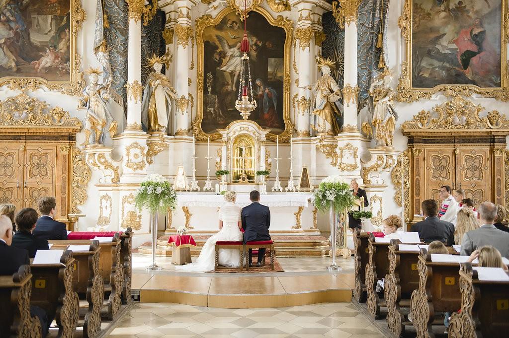 Hochzeit in der Asamkirche in Ingolstadt