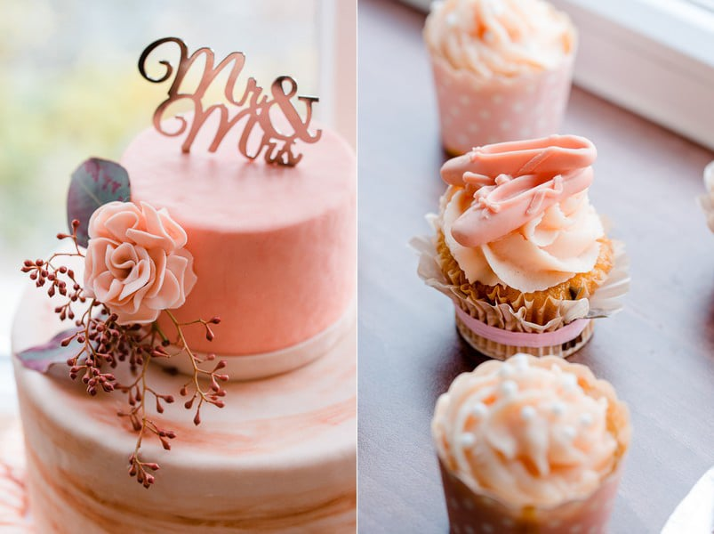 Mr und Mrs Schild für Hochzeitstorte