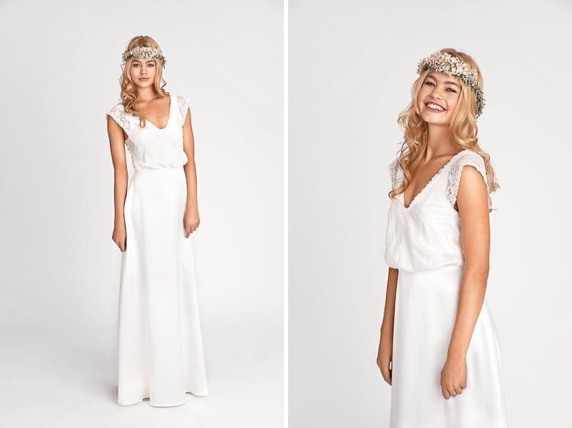 Brautkleid Celine aus der Kollektion 2016 von Soeur Coeur