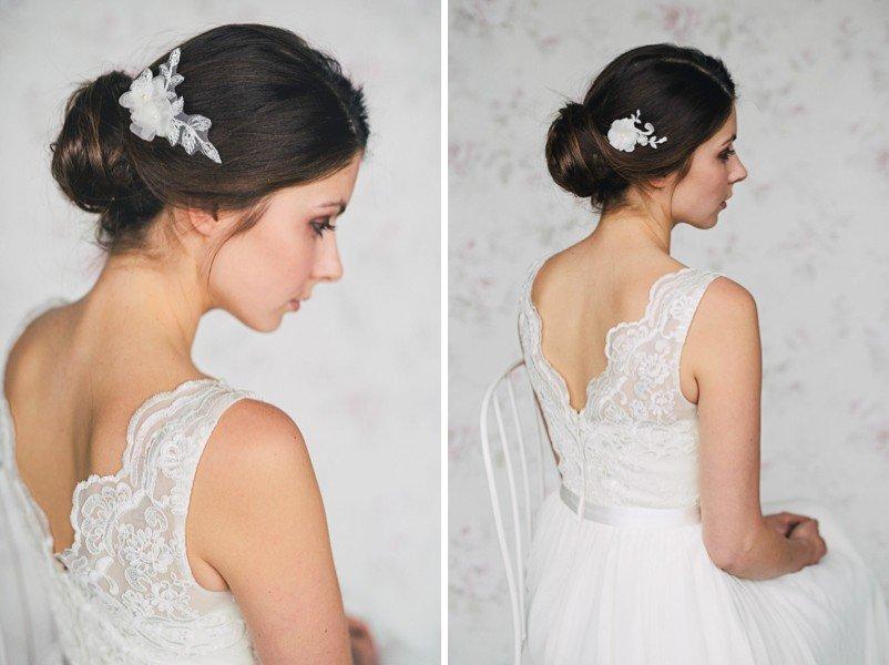 Haarschmuck für Bräute von Schönmich von Brigitte Wegerhoff