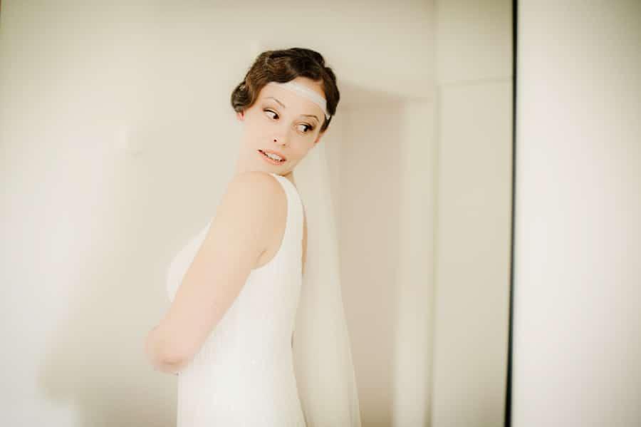 20er Jahre Brautkleid von Pronovias