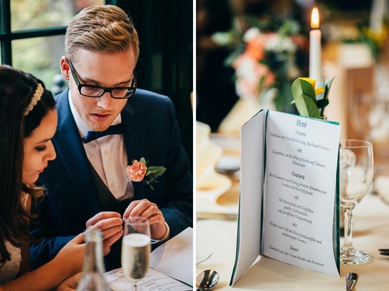Inspiration für eine günstige Hochzeit in Orange und Blau in Freising.