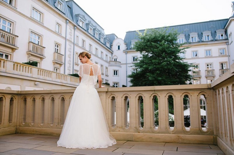 Das Brautkleid Rosa von küssdiebraut
