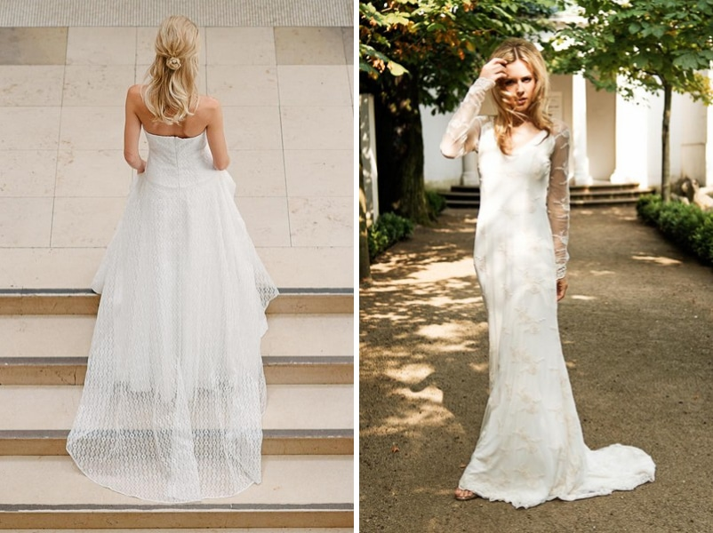 Die Brautkleider Bea und Chloe von küssdiebraut