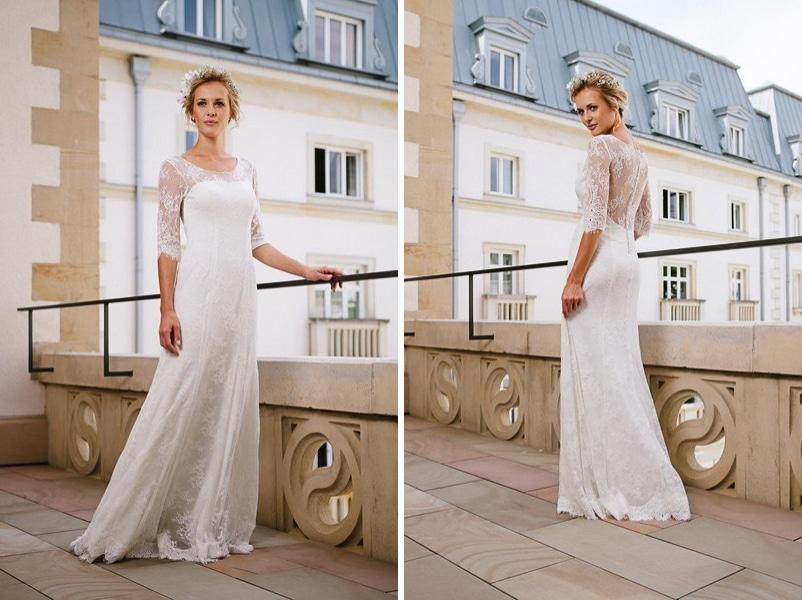 Das Brautkleid Chiara von küssdiebraut