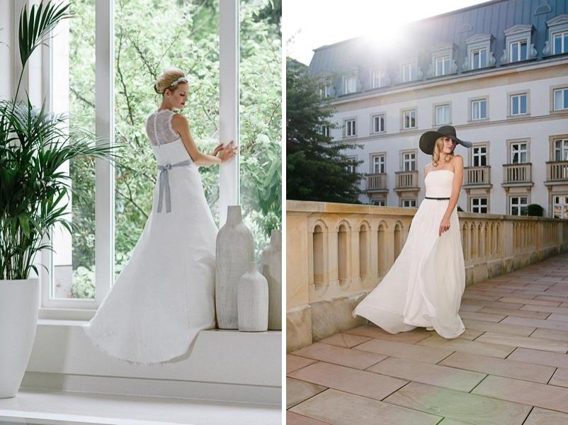 Die Brautkleider Ella und Faye von küssdiebraut