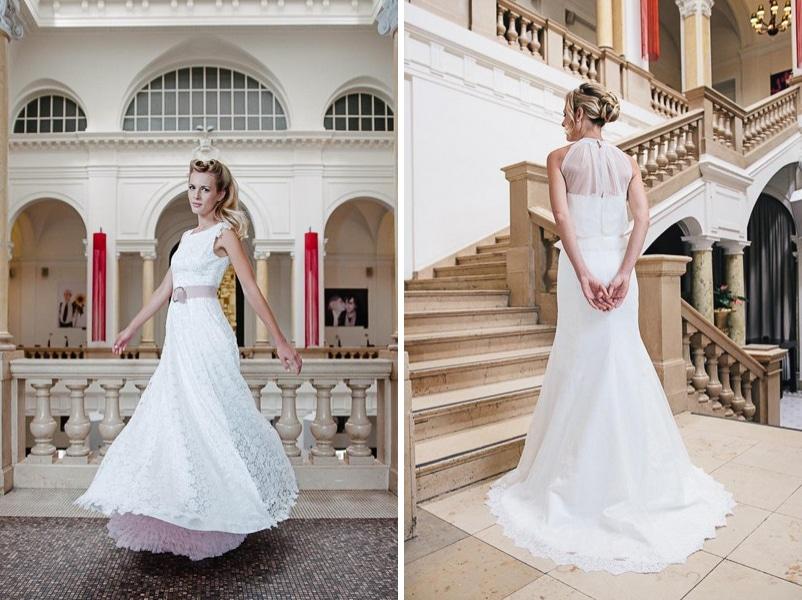Die Brautkleider Lotti und Nane von küssdiebraut
