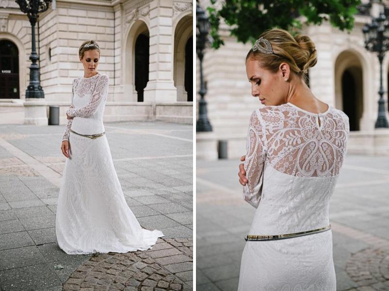 Das Brautkleid Valentina von küssdiebraut