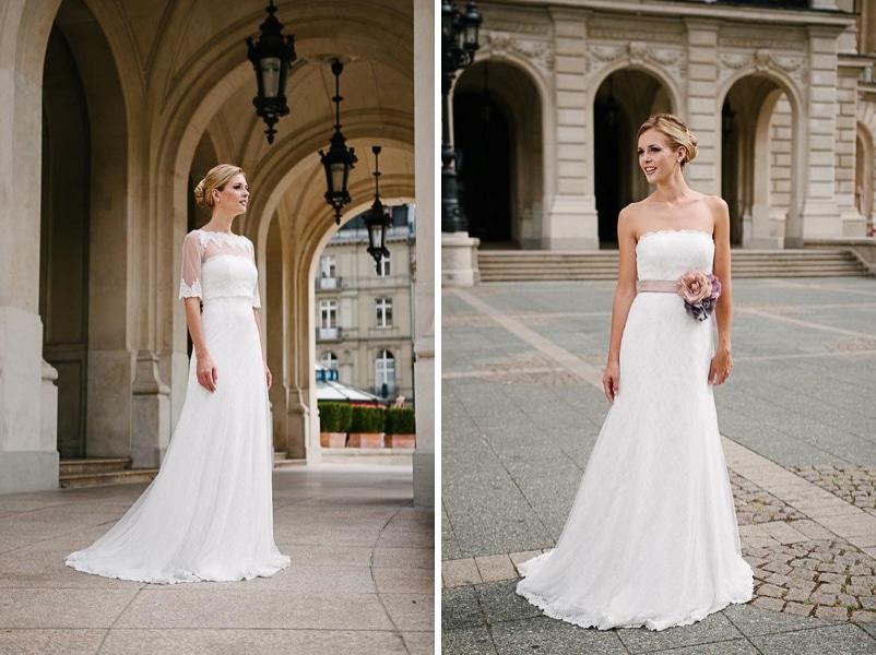 Das Brautkleid Vio von küssdiebraut