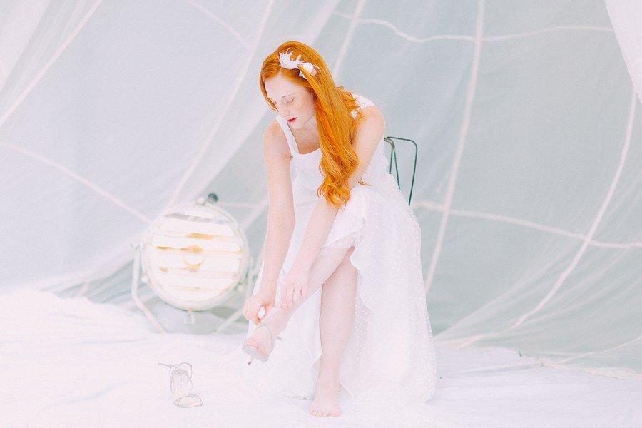 Das Brautkleid Camille aus der Noni Federleicht Kollektion