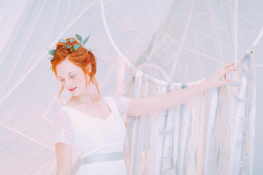 Das Brautkleid Martine aus der Noni Federleicht Kollektion